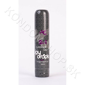 Joydrops 2in1 Sensual Massage Lubricant Gel 125ml