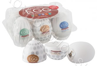Tenga Eggs mix 6ks- Hard