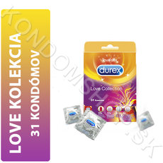 Durex Love Collection balení 31 kondomů