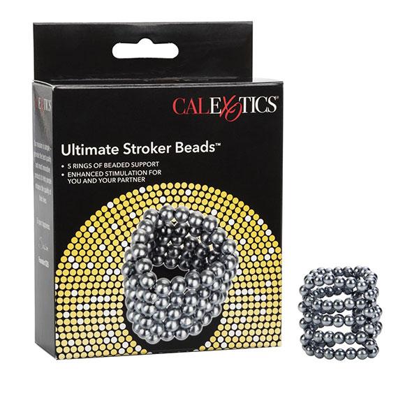 CalExotics Ultimate Stroker Beads kroužek na penis