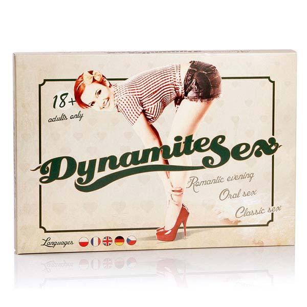 Levně Dynamite Sex erotická stolní hra pro páry