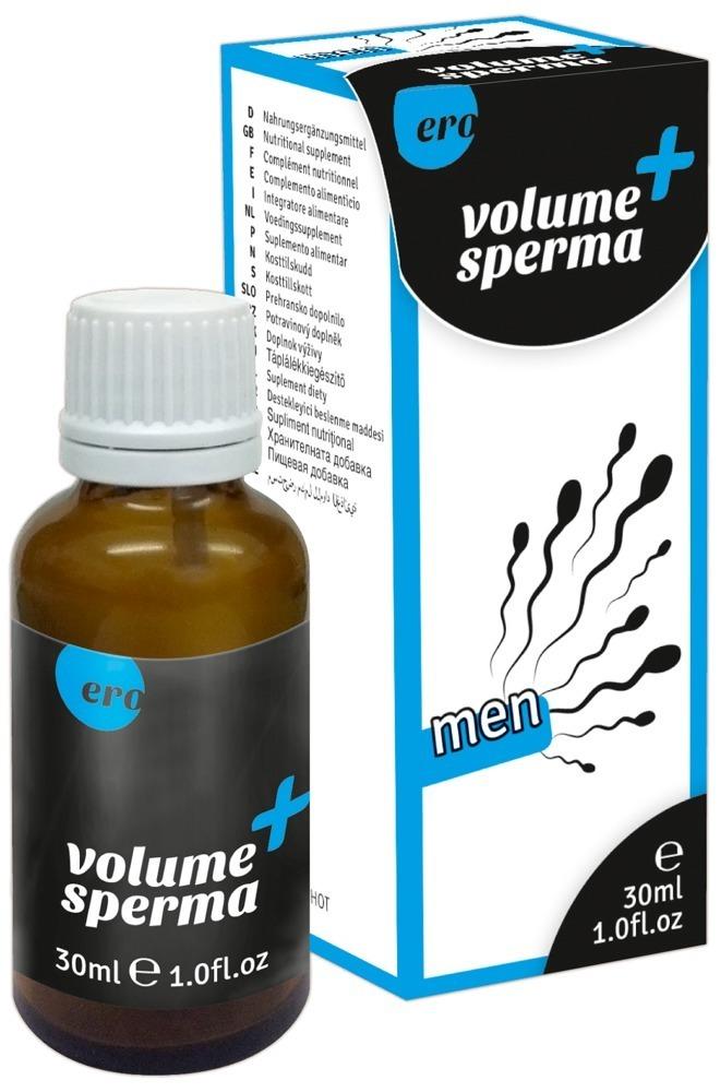 Ero Volume + Sperma kapky pro muže 30ml