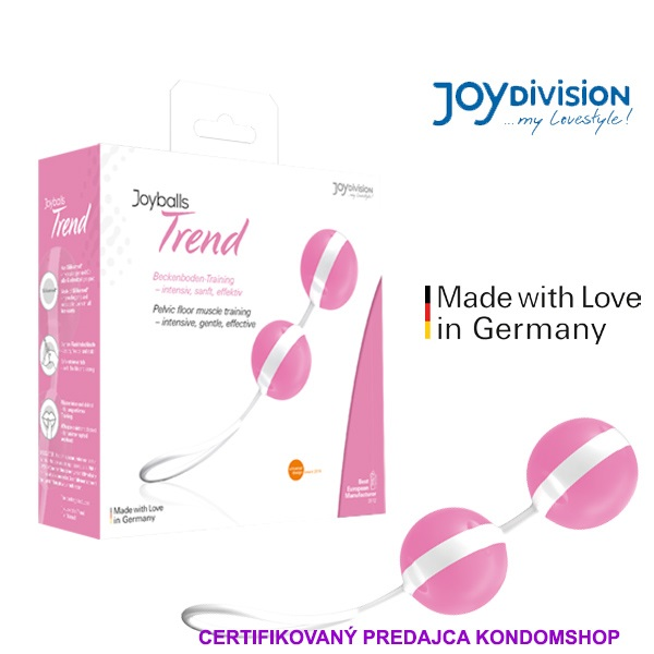 Joyballs Trend pink, white