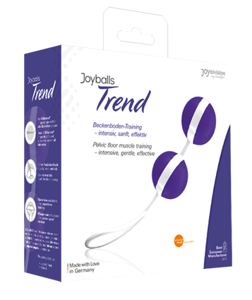 Joyballs Trend violet, white