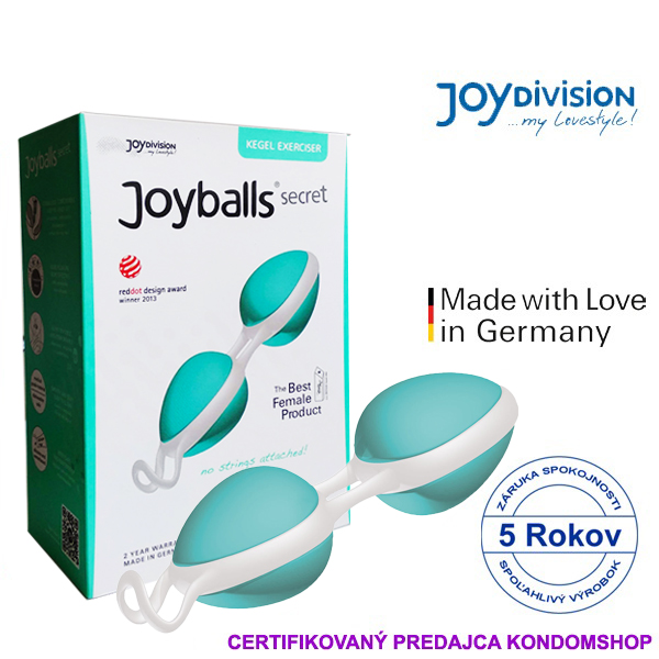 Joydivision Joyballs secret new r.2018 mint-white
