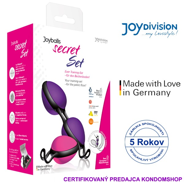 JoyDivision Joyballs secret set magenta, violet