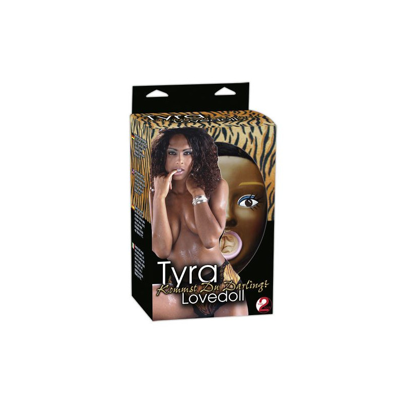 You2Toys Tyra Love Doll nafukovací panna