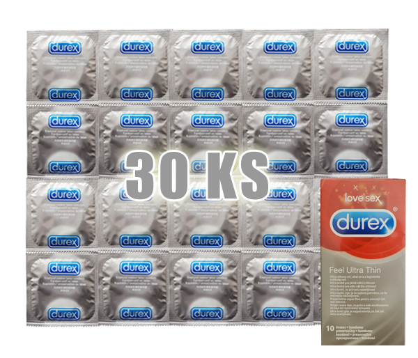 DUREX Feel Ultra Thin 30 ks