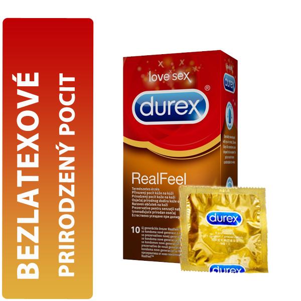 Durex Real Feel krabička CZ distribuce 10 ks