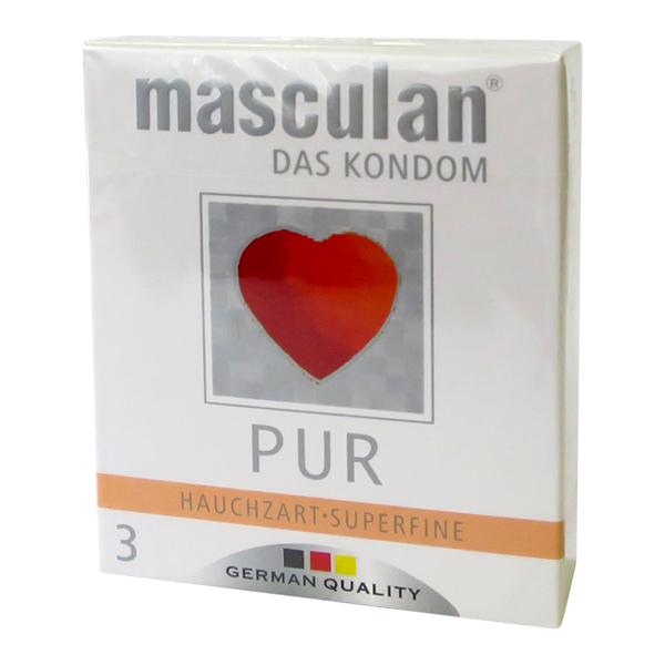 Masculan PUR krabička 3 ks