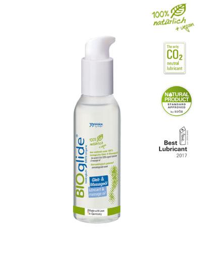 Joydivision Bioglide lubrikant a masážní olej 125 ml