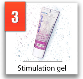 aquaglide stimulation gel