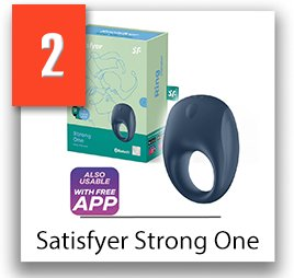 Satisfyer Strong One cock ring