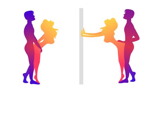 ženské anální sex pozice